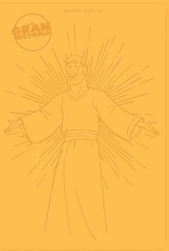 Imagen de Biblia NTV La Gran Historia - Amarillo Simil Piel