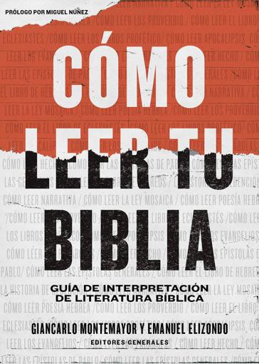 Imagen de Como leer tu Biblia