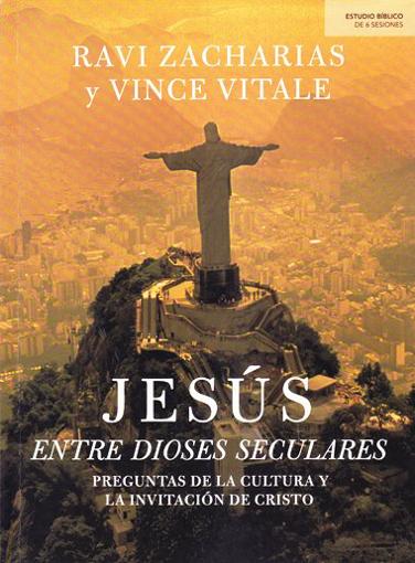 Imagen de Jesus entre dioses seculares