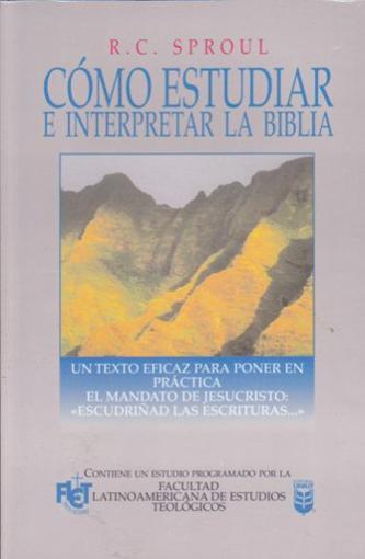 Imagen de Como Estudiar e Interpretar la Biblia