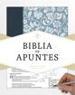 Imagen de Biblia de Apuntes RVR1960 (azul, piel genuina y tela impresa)