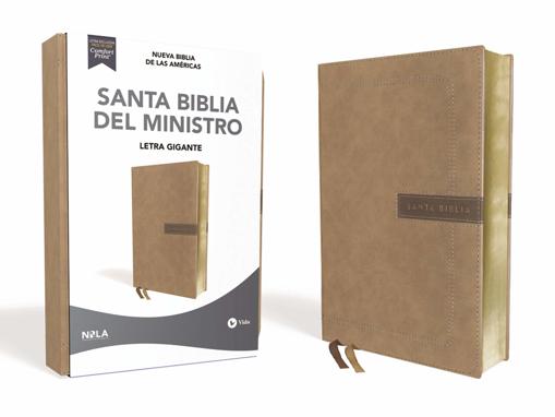 Imagen de Santa Biblia del Ministro NBLA (beige, letra gigante)
