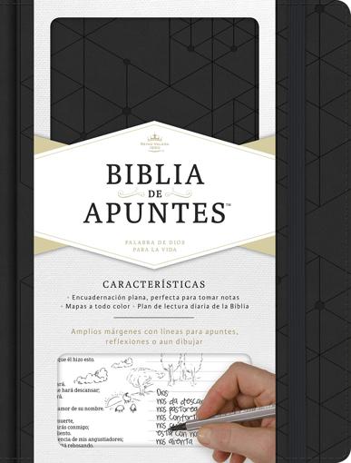 Imagen de Biblia de Apuntes RVR1960 (negra)