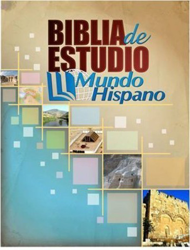 Imagen de Biblia de Estudio Mundo Hispano (Tapa Dura)