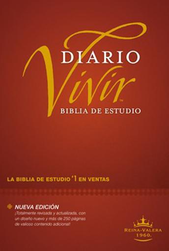 Imagen de Biblia de estudio del diario vivir RVR60 (tapa dura)