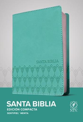 Imagen de Santa Biblia NTV, Edicion Compacta (Semipiel - Menta)