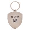 Imagen de Courage - Joshua 1:9 Metal Keyring