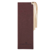 Imagen de Be Still and Know Brown Faux Leather Bookmark - Psalm 46:10