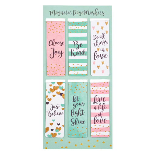 Imagen de Sparkle Magnetic Bookmark Set