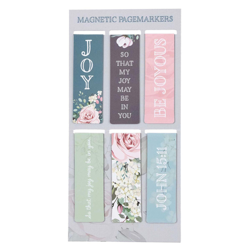 Imagen de That My Joy May Be In You Magnetic Bookmark Set - John 15:11