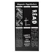Imagen de Black and White Magnetic Bookmarks