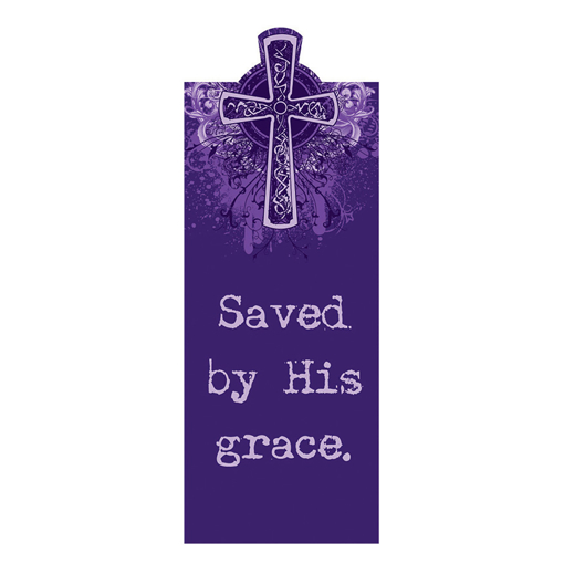 Imagen de Saved by His Grace Magnetic Bookmark