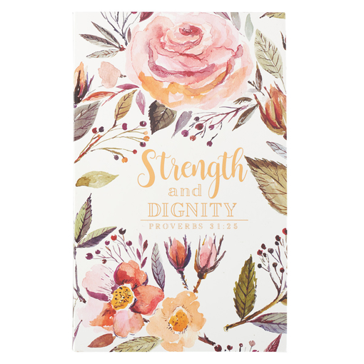 Imagen de Strength and Dignity Flexcover Journal - Proverbs 31:25