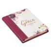 Imagen de His Grace is Enough Handy-sized Faux Leather Journal - 2 Corinthians 12:9