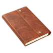Imagen de Stand Firm in the Lord Classic Full Grain Leather Journal with Button Closure – Philippians 4:1