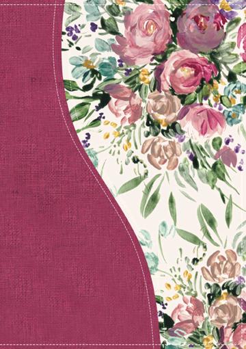 Imagen de Biblia de una joven conforme al corazon de Dios RVR1960 - Floral