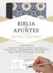 Imagen de Biblia de Apuntes Edicion Letra Grande RVR1960 (piel fabricada y mosaico crema y azul)