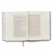 Imagen de Biblia de Apuntes Edicion Letra Grande NVI (blanco y azul sImil piel)